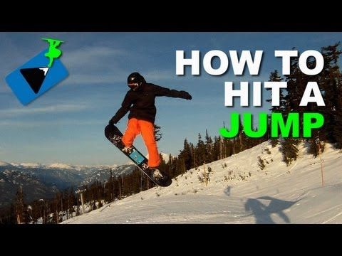 How to JUMP on a Snowboard – Snowboarding Tricks