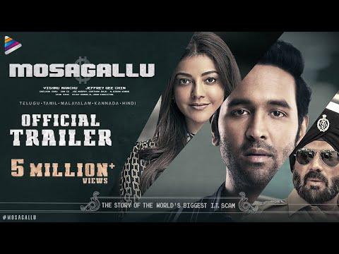 Manchu Vishnu Mosagallu Trailer