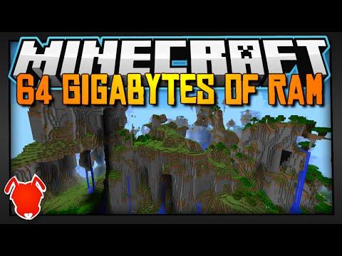 , title : 'Minecraft with 64 GIGABYTES of RAM!'