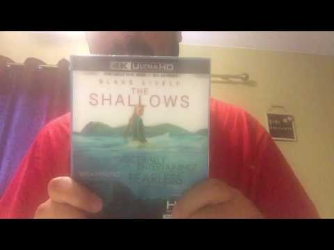 The Shallows 4K Ultra HD Blu-Ray Unboxing