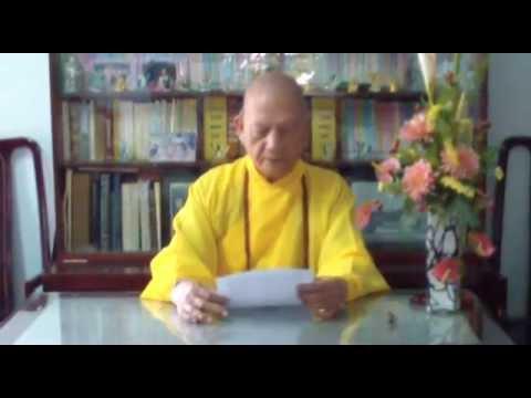 [Video Clip] Thư chúc tết Ất Mùi của Hòa Thượng Thượng Thủ Hội Đồng Chứng Minh GĐPT Việt Nam
