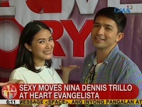 UB: Sexy moves nina Dennis Trillo at Heart Evangelista