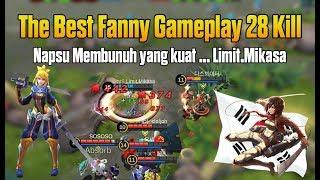 Download Video DAHSYAT !!! Ini Baru Mikasa The Best Fanny Gameplay Mobile Legends MP3 3GP MP4