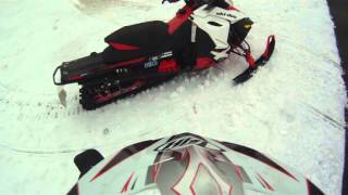 2. 2014 skidoo renegade x 800 etec ride in field