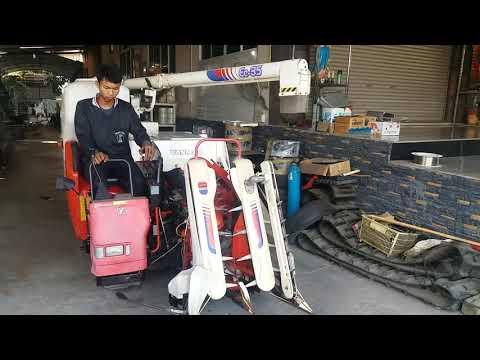 รถเกี่ยวนวดข้าวเก่าญี่ปุ่น  YANMAR Ee-35 ราคา 68,000 บาท