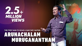 Video Arunachalam Muruganantham: The first man to wear a sanitary napkin MP3, 3GP, MP4, WEBM, AVI, FLV April 2018