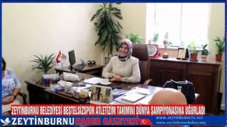 Zeytinburnu Belediyesi Beştelsizspor Atletizim Takımını Dünya Şampiyonasına Uğurladı