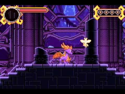 the legend of spyro the eternal night gba gameshark