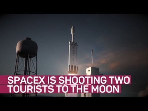 SpaceX plans to shoot tourists around the moon (CNET News)