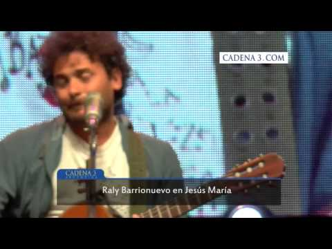 Raly Barrionuevo en Jesús María.