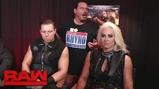 The Miz Joins The Cast Of The Marine 5  Battleground To Discuss Their Chemistry  Raw  April 24  2017