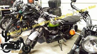 10. MotoVlog 164 - AZdesertdog / Missed Vlog / Project Bike - Triumph Tiger 800