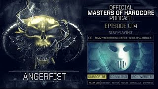 Video Official Masters of Hardcore Podcast 014 by Angerfist MP3, 3GP, MP4, WEBM, AVI, FLV November 2017