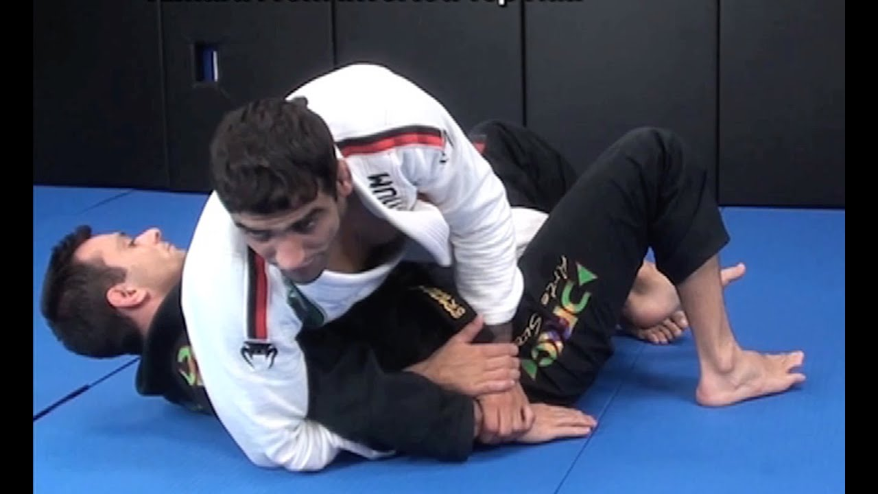 Advanced Kimura Attack from Half Guard Top