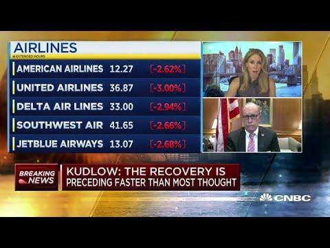 White House economic advisor Larry Kudlow: Stimulus talks have slowed, but not ended