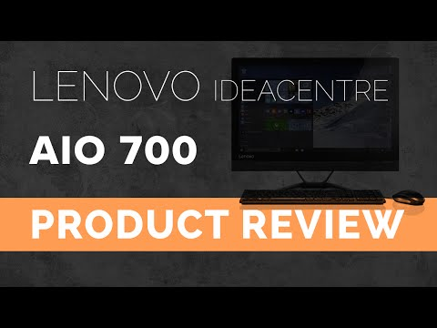 Lenovo Ideacentre AIO 700 (All-In-One) Unboxing & Quick Review