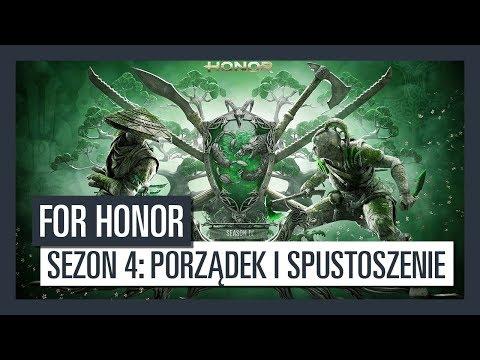 Na 14 listopada zaplanowano premierę czwartego sezonu For Honor: Porządek i Spustoszenie