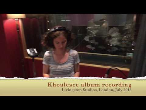 Khoalesce DEBUT ALBUM studio recording online metal music video by CAROLINE SCOTT