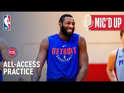 Video: Mic'd Up - All-Access Detroit Pistons Practice