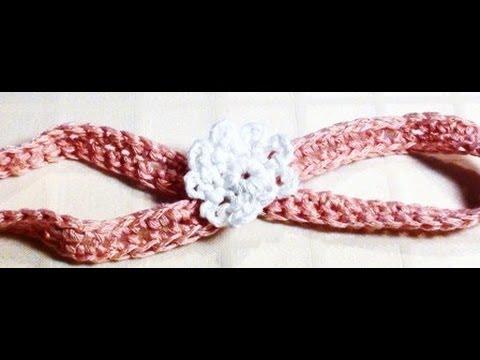 Download Crochet Baby Headband - Crochet Baby Headband with Flower HD Mp4 3GP Video and MP3