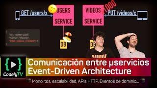 Comunicación entre microservicios: 🕋 Event-Driven Architecture