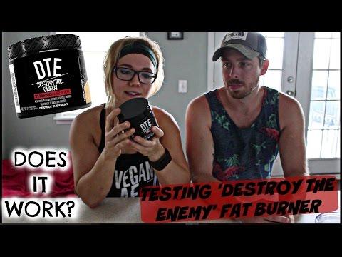 FAT BURNER SUPPLEMENT EXPERIMENT! TESTING 'DESTROY THE ENEMY'