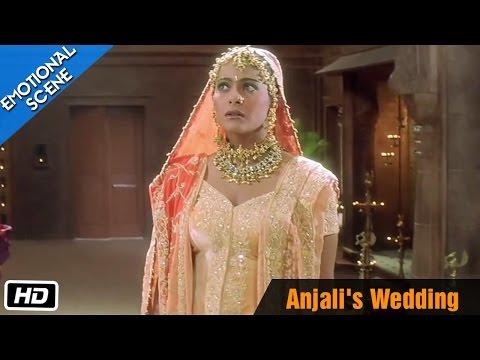 Video Anjali's Wedding - Emotional Scene - Kuch Kuch Hota Hai - Shahrukh Khan, Kajol download in MP3, 3GP, MP4, WEBM, AVI, FLV January 2017
