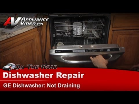 how to unclog a ge triton xl dishwasher
