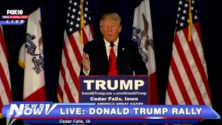 Cedar Falls (IA) United States  City pictures : FULL Donald Trump Cedar Falls, IA Rally 1-12-16