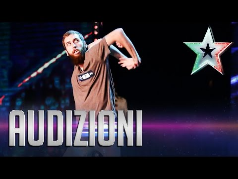 cisky in italia's got talent - incredibile