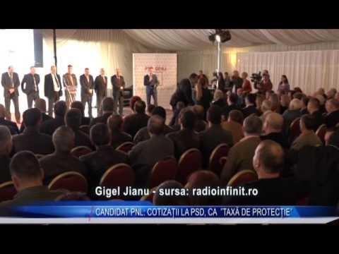"""CANDIDAT PNL: COTIZAȚII LA PSD, CA """"TAXĂ DE PROTECȚIE"""""""