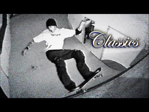jessee - A short part with slams, style, and a narrow, indoor vert ramp? It's gotta be Jason. This classic from the 1995 Consolidated video gets introduced by Tony Mi...