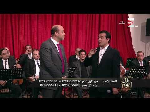محمد ثروت يقدم اقتراحا لأبو هشيمة على الهواء