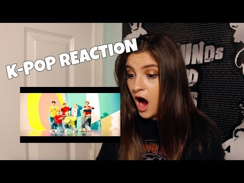 REACTING TO K-POP (BTS and EXO) (видео)