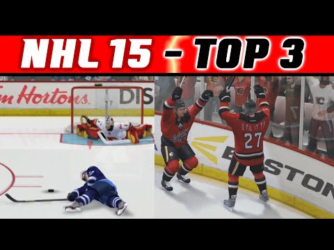 NHL 15: TOP 3 Highlights #2 - How Do They DO IT???