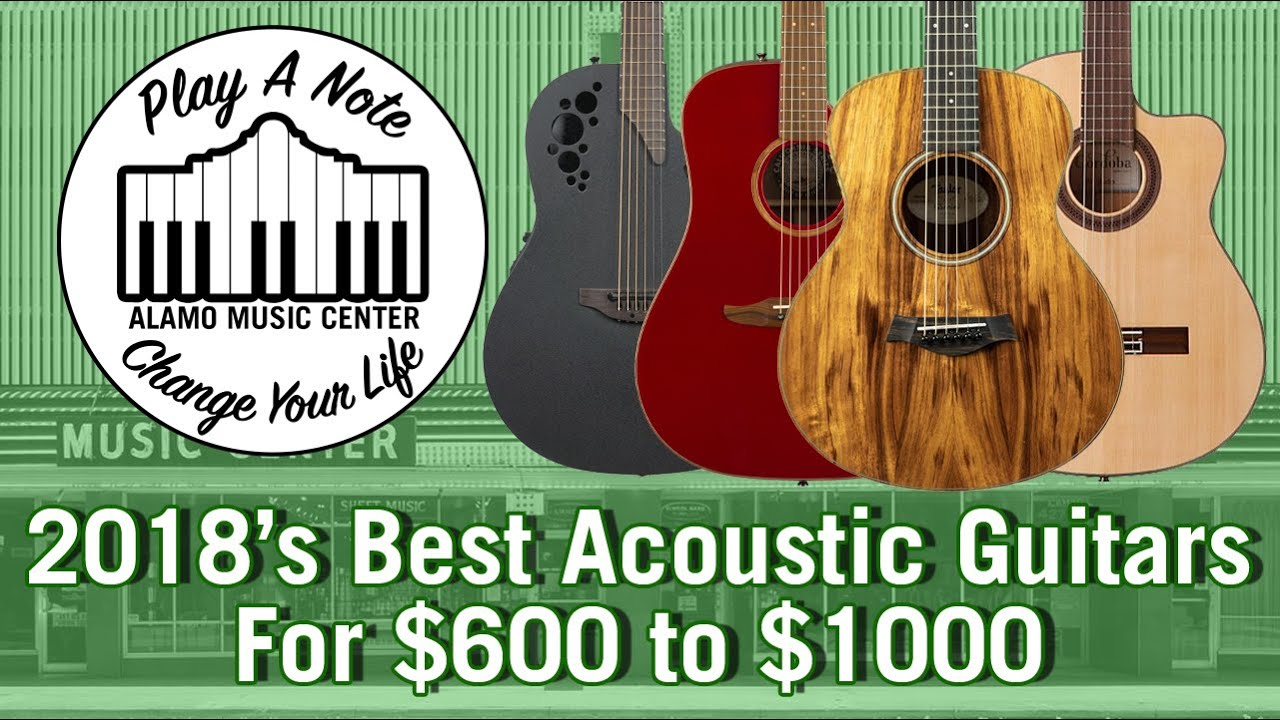 2018 Best Acoustic Guitars Above $600 And Under $1000 – Buyer's Guide And Comparison