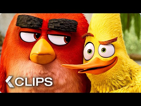 THE ANGRY BIRDS MOVIE 2 All Clips & Trailers (2019)