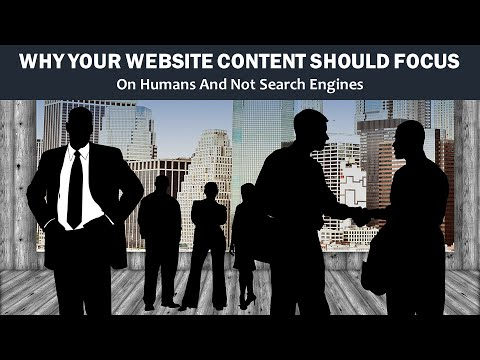 Watch 'Why Your Website Content Should Focus on Humans - YouTube'