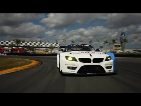 bmw z4 gte: sound, interni e drift da paura!