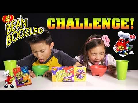 BEAN BOOZLED CHALLENGE! Super Gross Jelly Belly Beans!