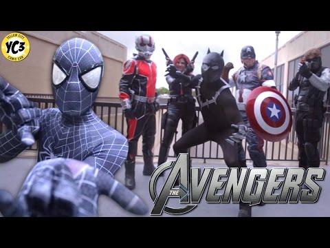 Avenger Civil Wars Cosplay Music Video @ Yellow City Comic Con 2016 YC3