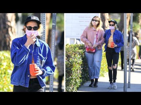 Kristen Stewart Goes Christmas Shopping Without Girlfriend Dylan Meyer