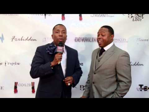 Comedian Junior with ATL Red Carpet at Studio 11 Film's Red Carpet Premiere