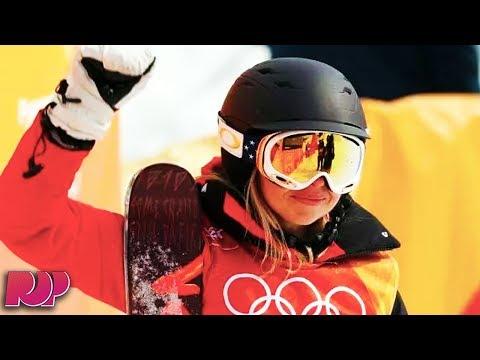 How Skier Elizabeth Swaney Got To The Olympics Without Doing Any Tricks (видео)