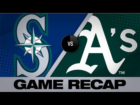 Video: Chapman's HRs in 5-RBI game to lead A's | Mariners-Athletics Game Highlights 7/16/19
