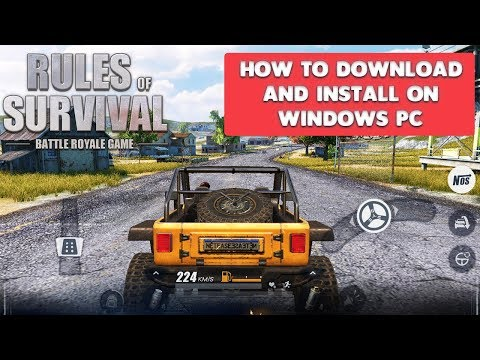 RULES OF SURVIVAL - HOW TO DOWNLOAD AND INSTALL ON WINDOWS PC