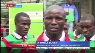 As The Olympic Team Cry Foul Over Kits The Paralympic Team Gets Boost From Safaricom