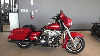 8. 608533   2013 Harley Davidson Street Glide   FLHX Used motorcycles for sale