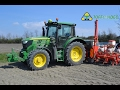 Sowing corn and beets 2016 with john deere .. semine 2016 mais,barbabietole