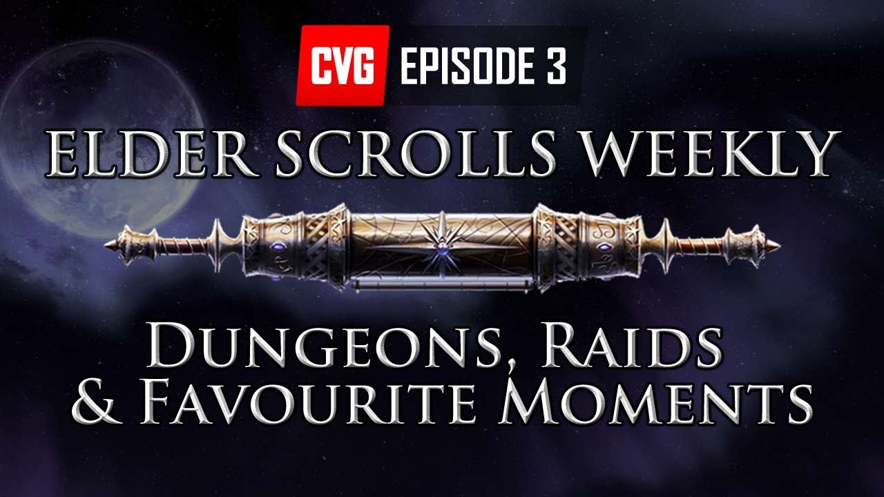 Elder Scrolls Online: видео - Elder Scrolls Weekly - Dungeons, Raids, Your Favourite Elder